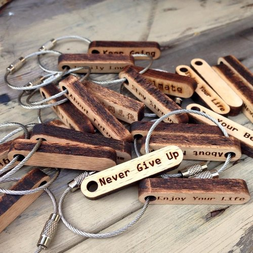 ►小款◄客製文字鑰匙圈