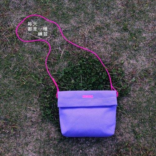 粉紫长方形边框素材