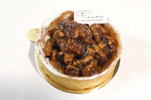 【Felicitas Pâtissérie】焦糖核桃塔 Caramel Walnut Tart
