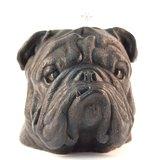黑色英國鬥牛犬造型蠟燭  Bulldog Candle