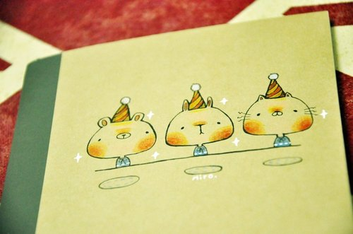 限量手绘封面笔记本-谁的生日派对?