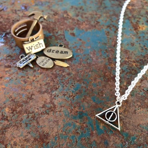 【Story Necklace 故事項鍊】 死神聖物 Deathly Hallows (小)