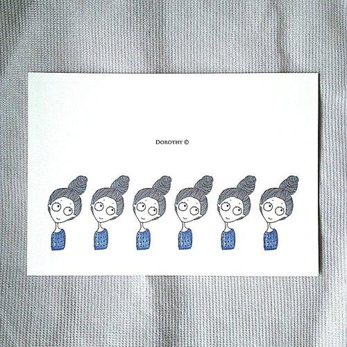 千頭萬緒明信片-B011