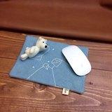 //新品// 北極熊納涼。滑鼠墊/小物墊