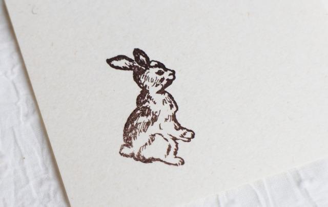 兔子 木頭印章 - ako-japan GALLERY | Pinkoi