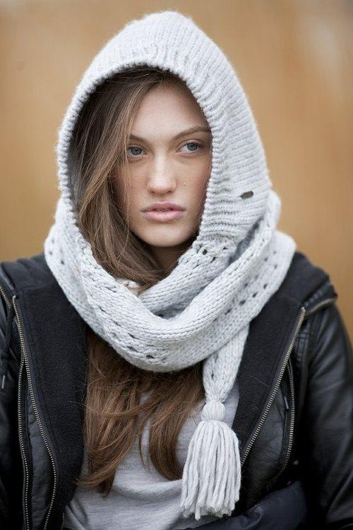 美国品牌 pistil 波西米亚风针织连帽围巾 olivia 系列