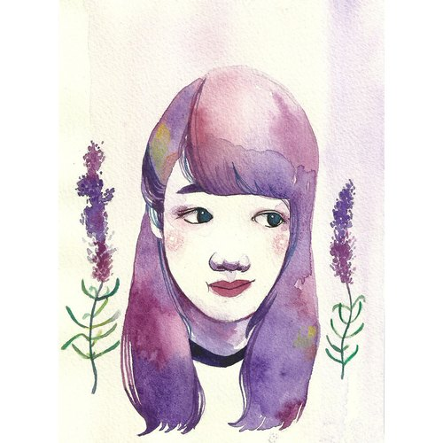 Watercolor Portraits / 水彩人像 / 一人