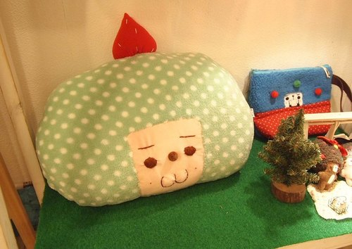 栗子菇软绵绵抱枕