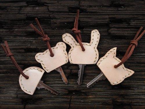 皮革手工制作动物