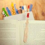 冰棒動物書籤 Ice pop animal bookmarker - 雀鳥 Bird - 紅
