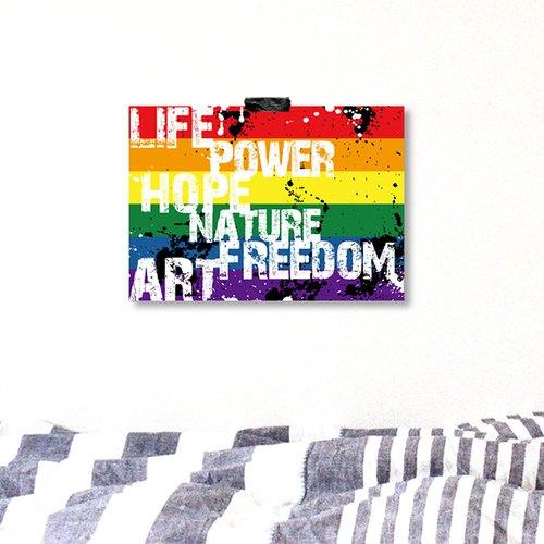 彩虹海报设计▲rainbow▲lgbt