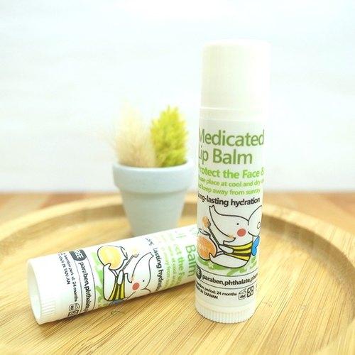 【綠機花園Green Plus】(護唇膏)蜂蜜洋甘菊護唇好棒(加贈草本修護膏體驗卡)