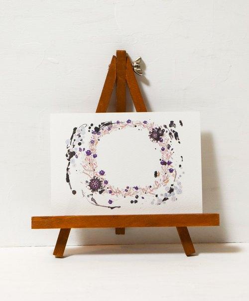 Postcard (オリジナルポストカード) 「Purples」