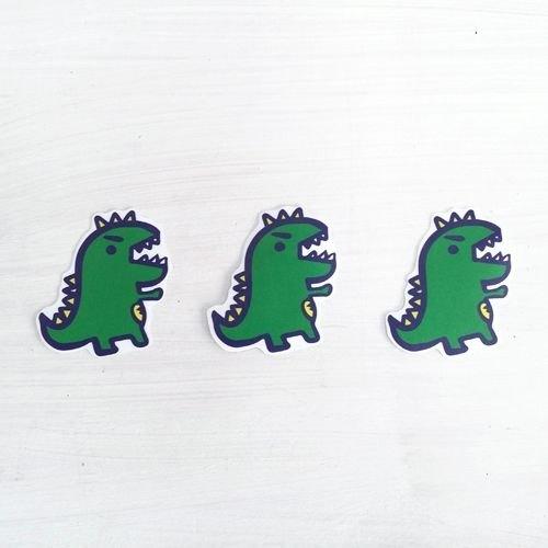 1212玩樂設 計逗趣到處貼 防水貼紙- 可愛小恐龍 ...