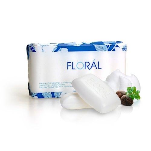 【FLORAL】芙蘿菈經典乳油木果香皂 110g x 6入