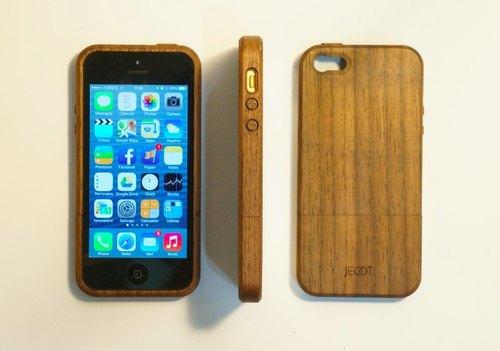 胡桃木walnut 木质手机壳