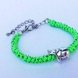 螢光綠-細版編繩