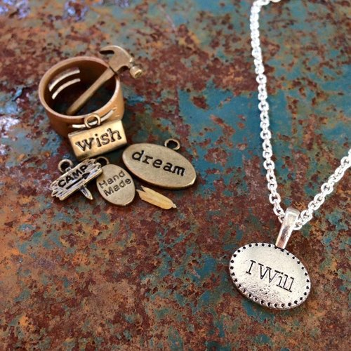 【Story Necklace 故事項鍊】 I will.無限可能