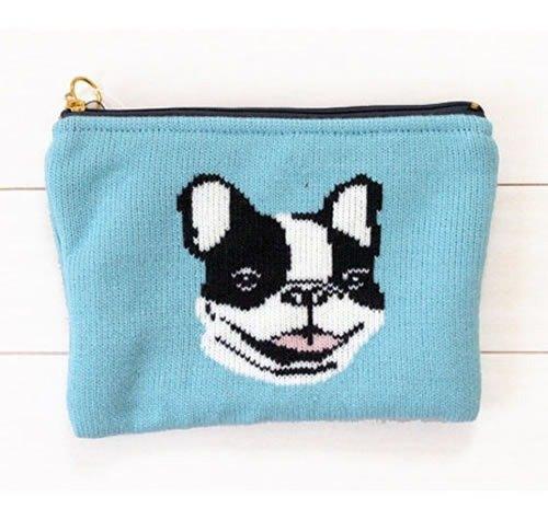 手工毛线编织动物系列收纳包/化妆包/手拿包(共3款)