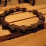 黑色●自行車鐵鍊條●手鍊●編號HB