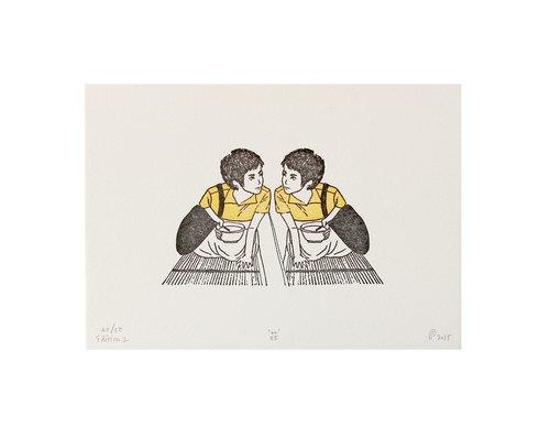 重庆森林-菲 凸板印刷明信片 | 5x7 | 50 份限量印刷