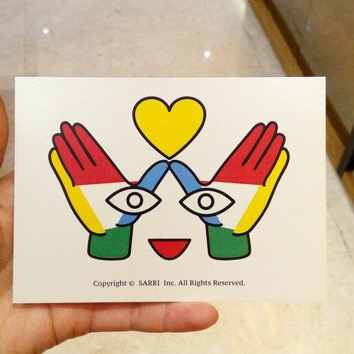 「爱的黄色惊喜」(可制作a3大小的海报) 生日卡 设计 著色 插画 绘本