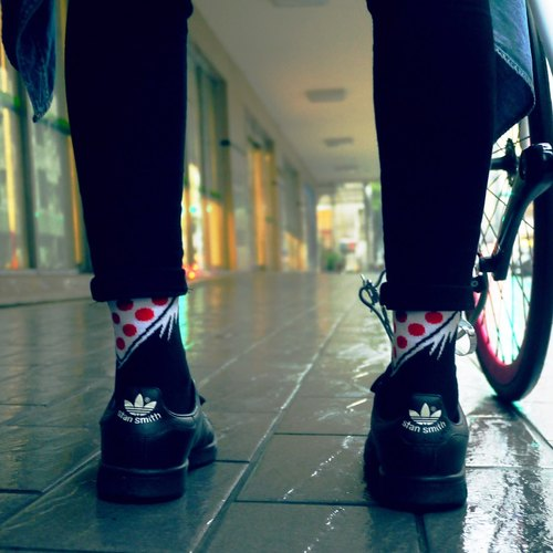 DYC X 4RIZ Climber 紅點襪