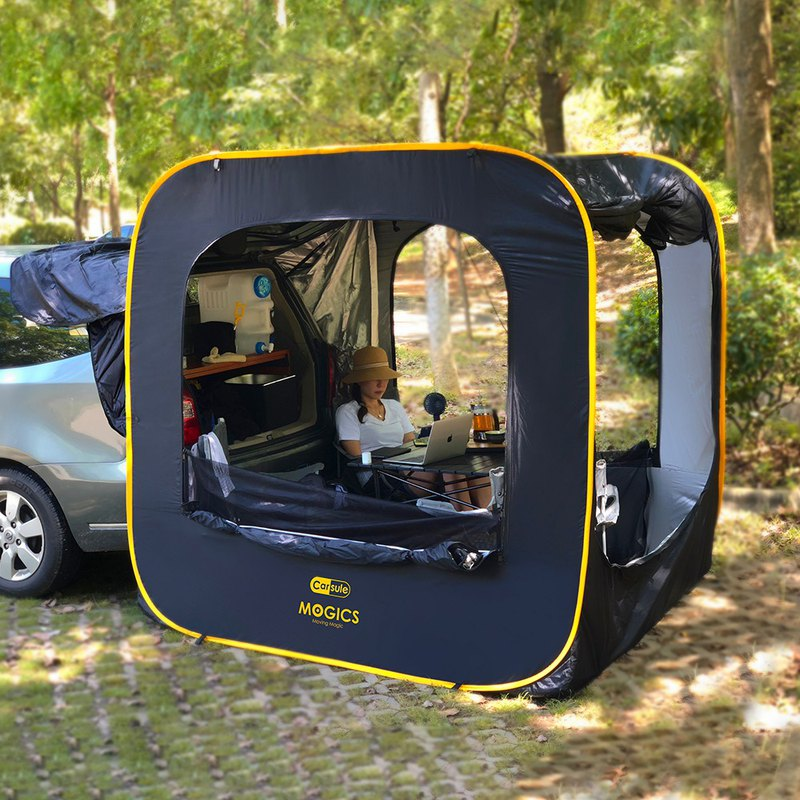 CARSULE capsule living room car expansion