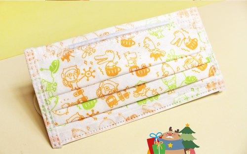 マスク /【動物遊樂園 / 風格趣味三層防護口罩】(3入)【Animal Paradise / Disposable Face Mask in Fun style】(3 per bag)