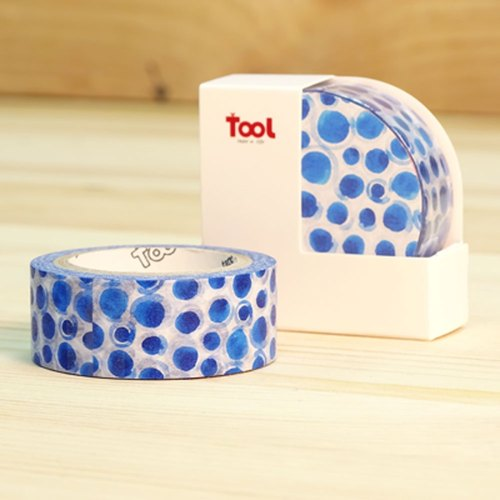 TooL手感100%紙膠帶/ Puddle
