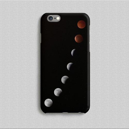 手机壳 月缺月圆 lunar phase design by 拖稿王  z999cc003
