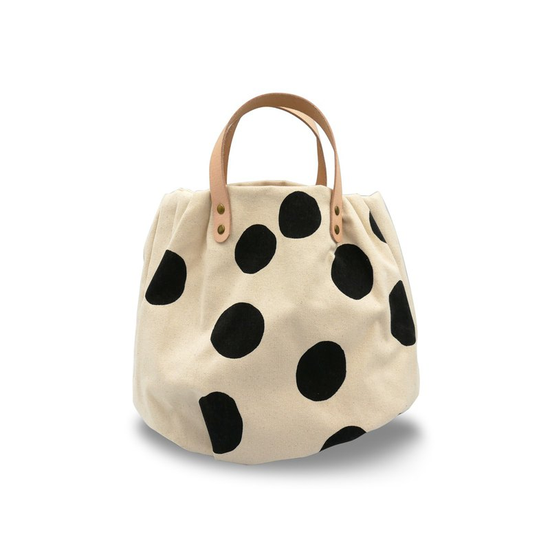 Handmade Bag Pumpkin Shape (Black)