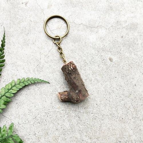 原木树枝_龙柏钥匙圈d
