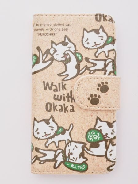 【预购中】oakaka猫咪手帐式手机壳(各种型号对应 2款)