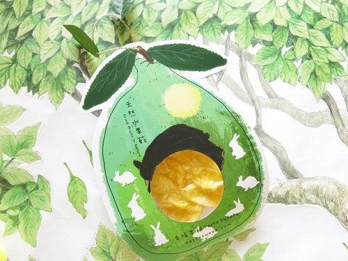 幸福果铺-月兔柚子熊款造型水果乾(一份两包)