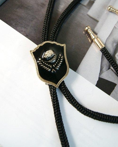 型男社-純手工定制 徽章-BOLO TIE波洛領帶 領結 送禮盒