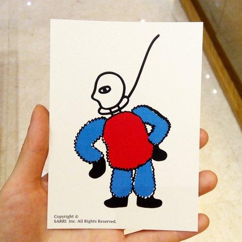 「以死谢罪」(可制作a3大小的海报) 生日卡 设计 著色 插画 绘本 卡片