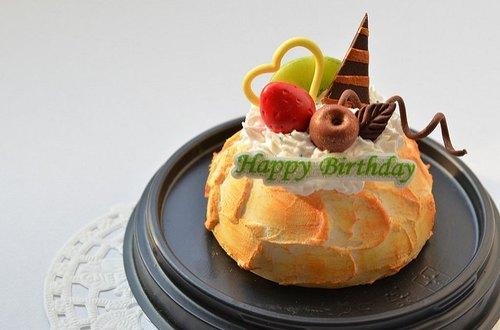 综合水果蛋糕~~纯手工 黏土 树脂土 超轻土 生日 手工 礼物