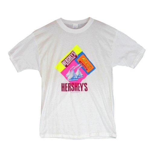 古著-reese's hershey巧克力短袖T恤