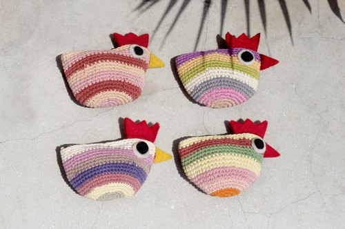 母亲节礼物 生日礼物 交换礼物 圣诞礼物 限量手工钩针编织小鸡零钱包