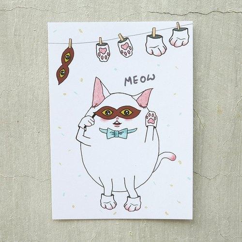 [明信片] 我是貓~meow