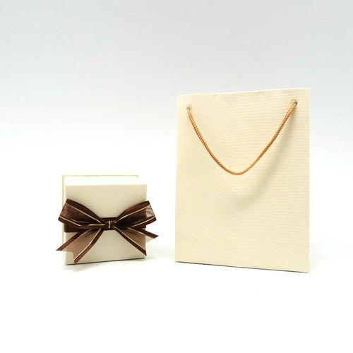 小蝴蝶结礼物盒 提袋 饰品送礼包装 joy stone - 33小