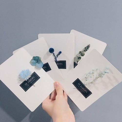 加購商品 - 乾燥花單面卡片 傳遞幸福
