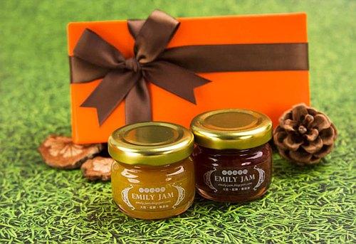 *╮愛蜜莉手工果醬╭*婚禮小物 愛瑪仕風格極致美 果醬禮盒 (含果醬、包裝)