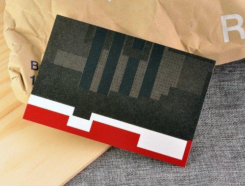 【幾何設計系列圖案明信片】我最愛的運動球鞋 - AJ11 籃球之神