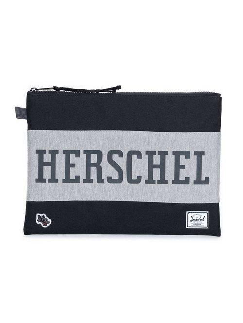 【嚴選】Herschel Network系列 雙色手拿包 IPAD 小筆電 平板電腦 都可以放 加拿大品牌