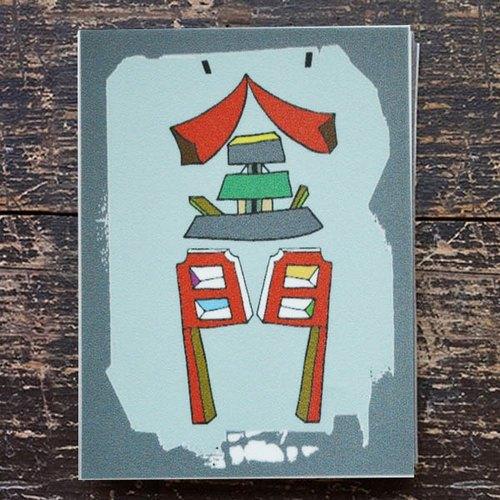 Li-good - 防水貼紙、行李箱貼紙、城市貼紙 ( 蘭嶼 )