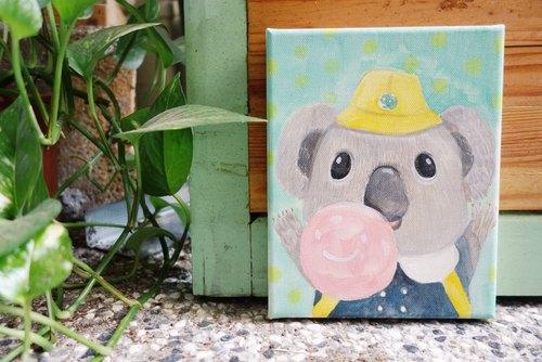 小画框原画『 无尾熊 』小朋友|动物的日常系列