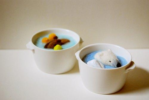 ▓ 数量限定 ▓ 小动物浓汤系列:北极熊冷汤,水豚柚子汤