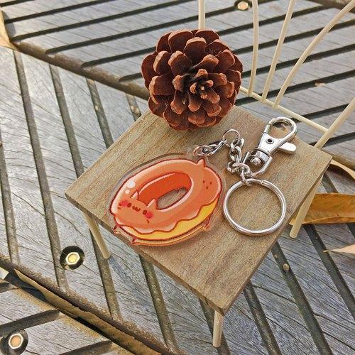 ::小狐狸の柑仔店:: / 甜圈貓 - BoBo 透明壓克力吊飾